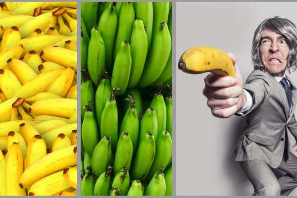 Harm from bananas and signs of poisonous treatment